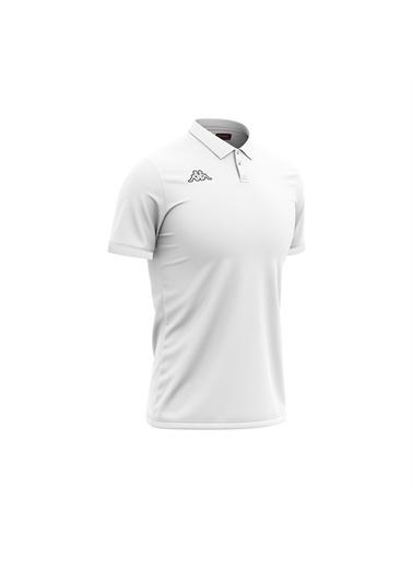 Kappa Polo T-Shirt Esmalto  Beyaz